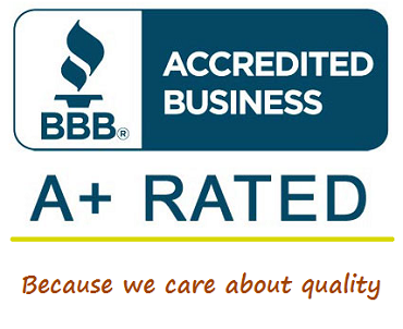 Better Business Bureau A+ rated workers compensation insurance agency.