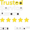 Feefo Gold standard award for exceptional customer service.