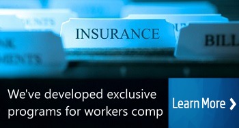 Insurance company programs for workers compensation