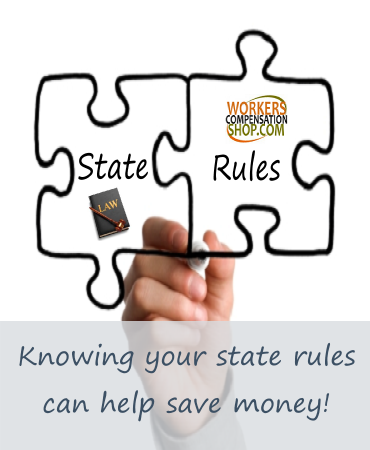 State workers compensation insurance laws.