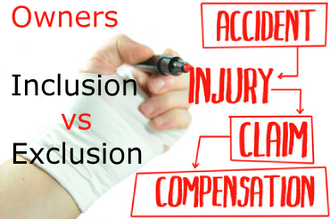 owners exemption for workers comp insurance.